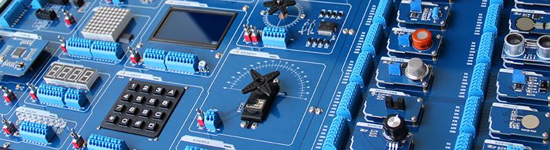 如:使用分离元件设计步进电机驱动器,并将器件铺展在电路板